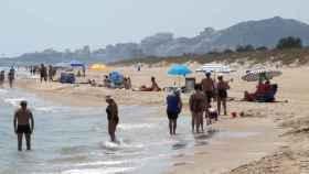 La playa en la que se produjo el asalto sexual a la mujer de 40 años.