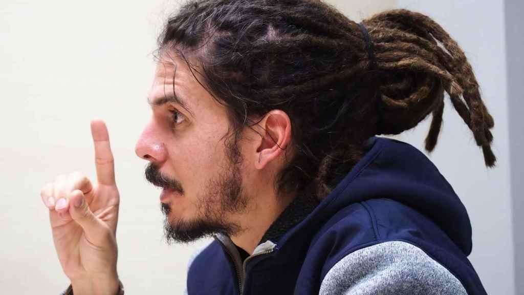 El diputado y secretario de organización de Podemos, Alberto Rodríguez.
