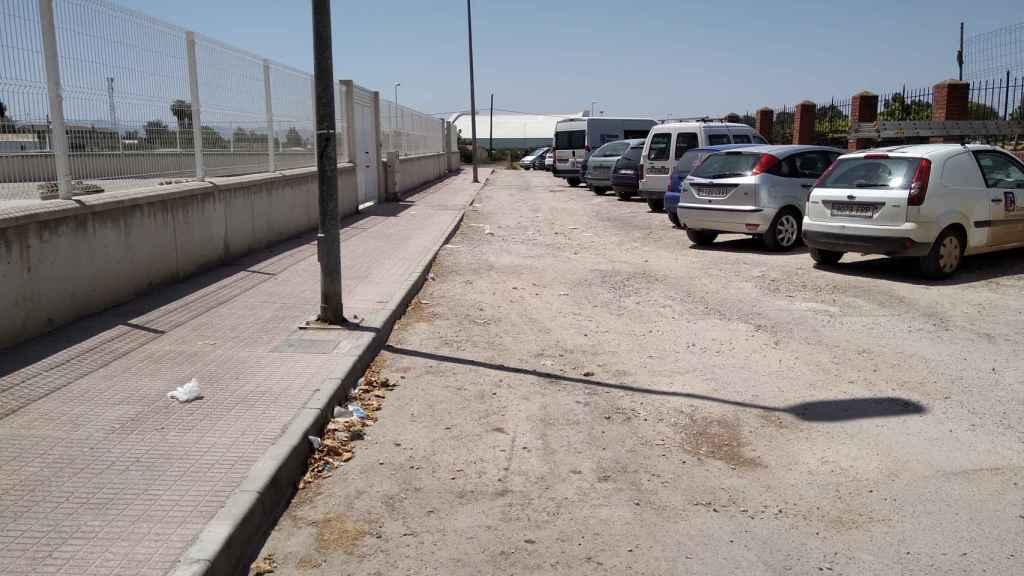 Descampado en el fue localizado por unos viandantes el cuerpo sin vida de Mustapha Sabri.
