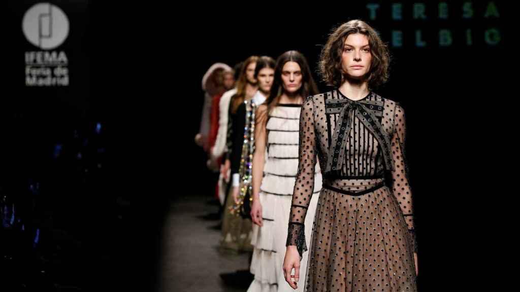 Desfile de Teresa Helbig en Mercedes-Benz Fashion Week Madrid.