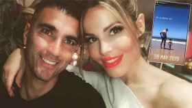 José Antonio Reyes y Noelia López en un combo de Jaleos.
