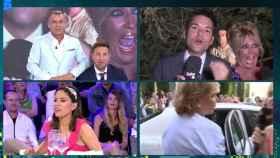 Una de las retransmisiones en directo de la boda de Belén Esteban en 'Sábado Deluxe'.