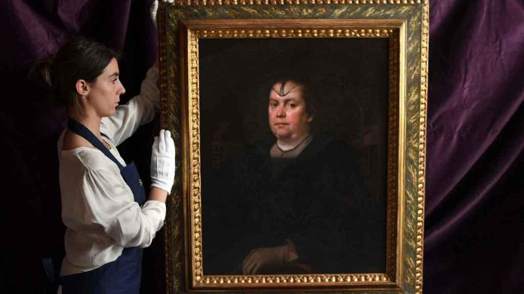 La 'Amante del Vaticano', de Diego Velázquez.
