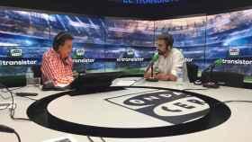 Borja Fernández, en El Transistor. Foto: Twitter. (ElTransistorOC)