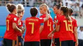 Las jugadoras españolas hablan tras el gol de Estados Unidos