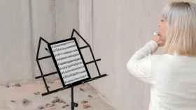 Una música toca con la tecnología automática de Beatik.
