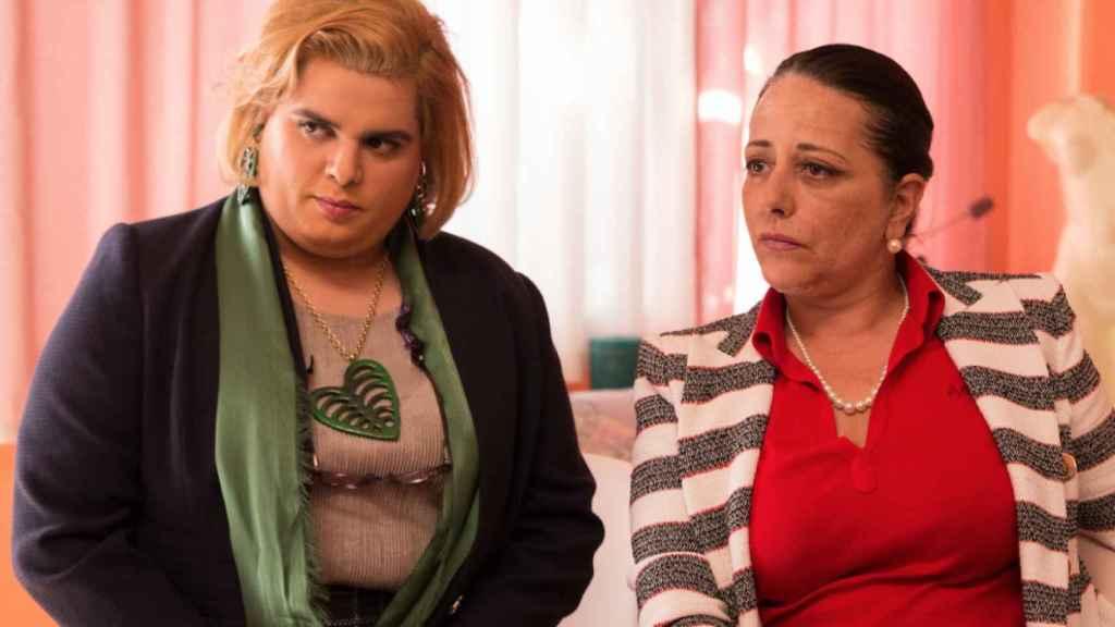 Fotograma de Paquita Salas, serie de Netflix producida en España.