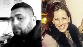 A la izquierda, el presunto homicida Sorín I. Z.; a la derecha, la víctima Marta Soria Capdevila.