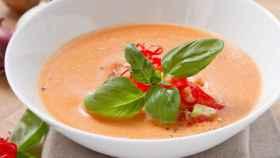 Un plato de gazpacho, el plato veraniego por excelencia.