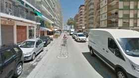 Calle Caminàs, donde apuñalaron al joven.