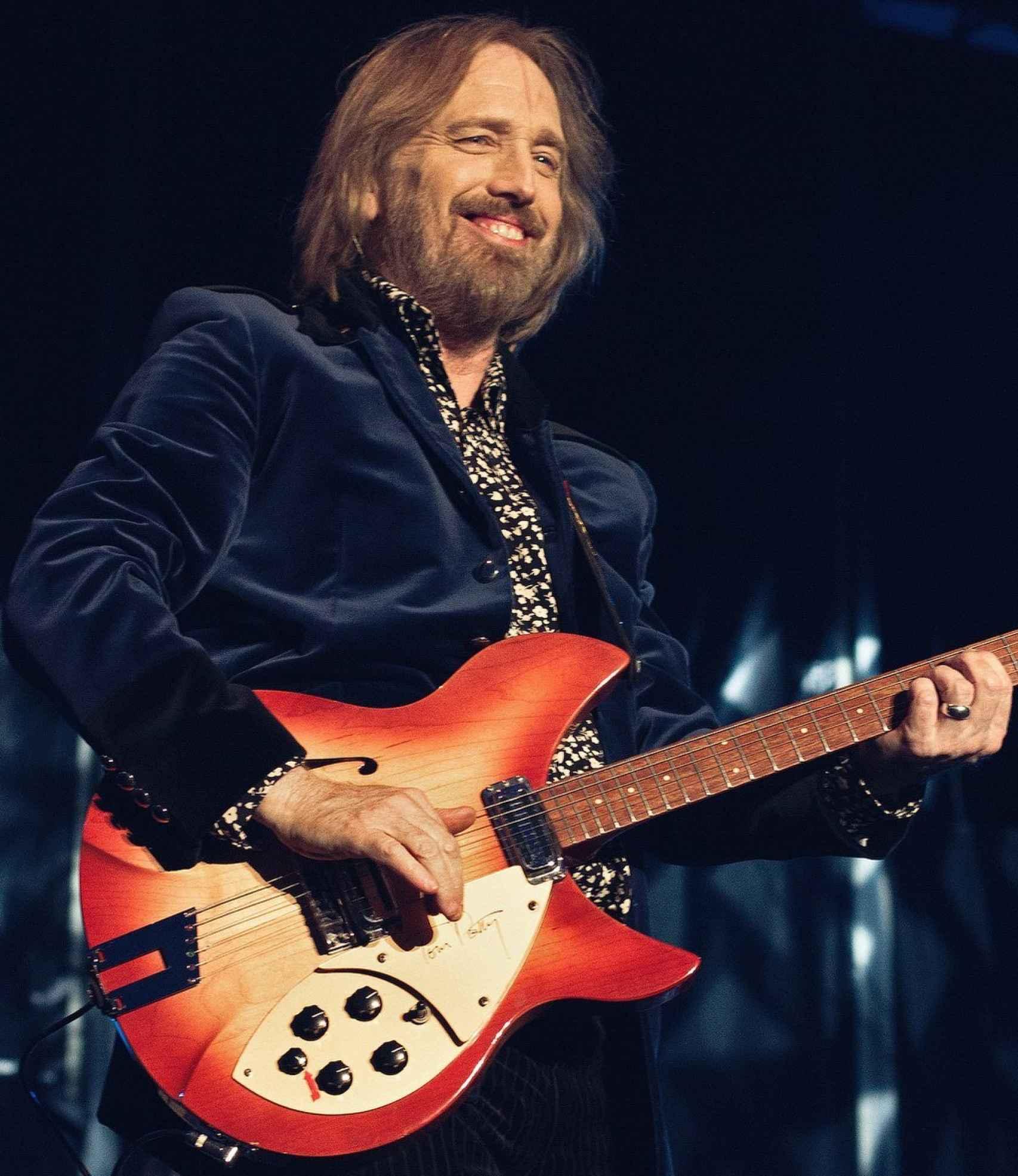 El cantante estadounidense Tom Petty.
