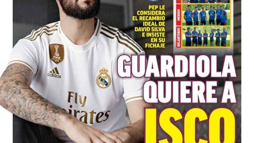 La portada del diario MARCA (27/06/2019)