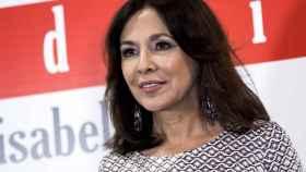 Isabel Gemio durante el estreno de 'Jóvenes Invisibles'.