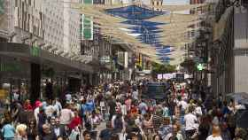 Las compras, un aliciente más para los turistas.