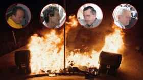 'El Club de los pirómanos de contenedores': el juego macabro que quema Palma de Mallorca