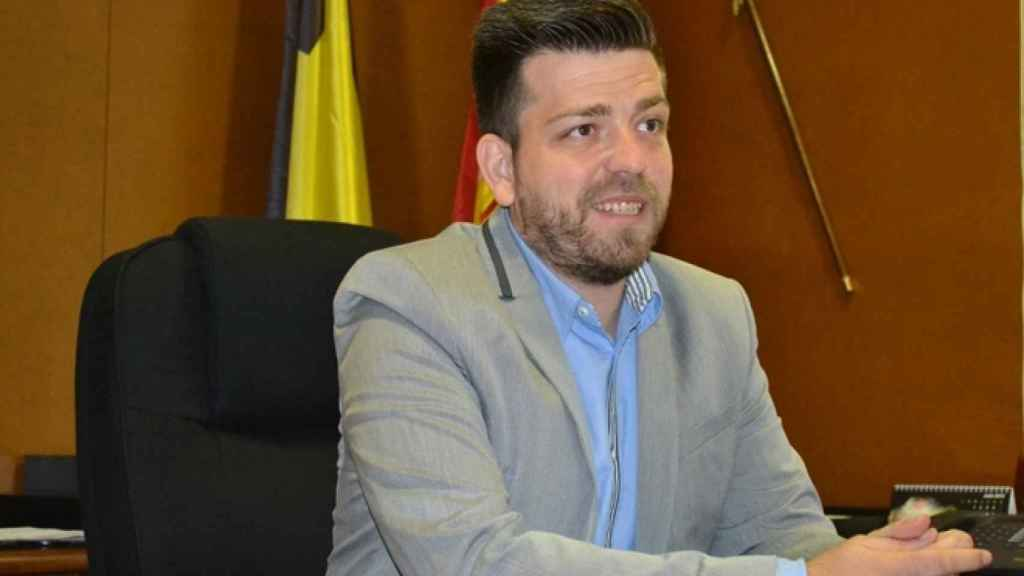 Rafael Martínez, alcalde de San Martín de la Vega (PSOE).