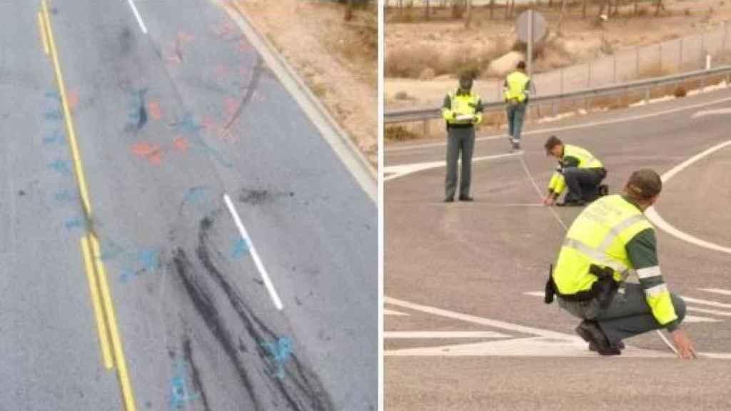 La reconstrucción del accidente se lleva a cabo para determinar cómo se produjo el accidente en función de la evidencia física.