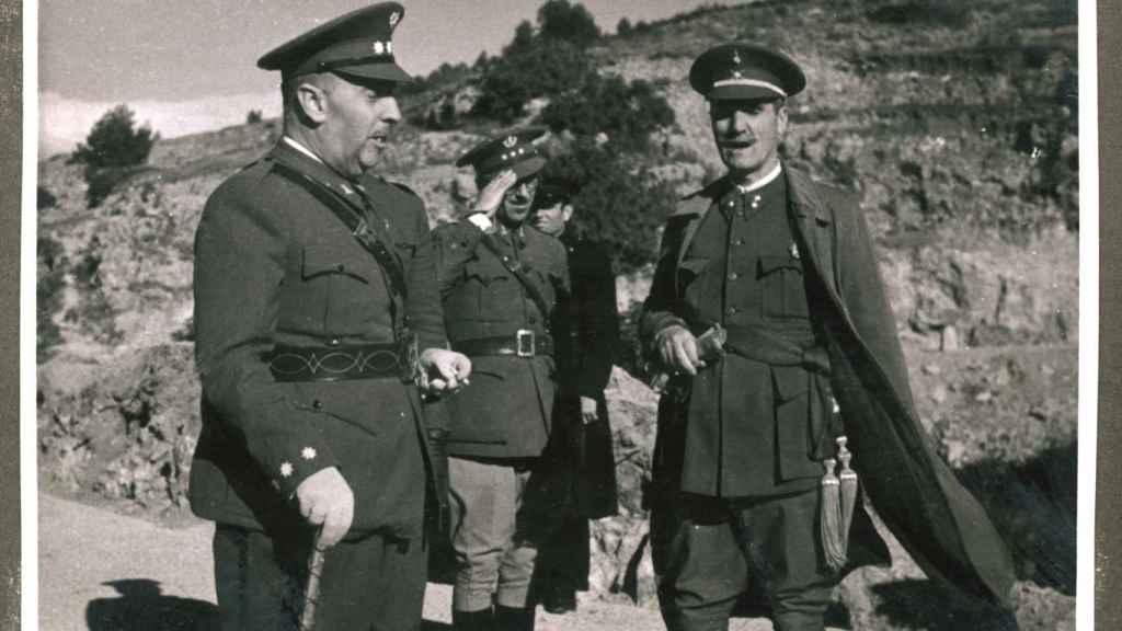 Latorre Roca, en una imagen correspondiente a los primeros años de franquismo.