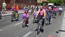 marcha en bici la victoria valladolid barrio 18