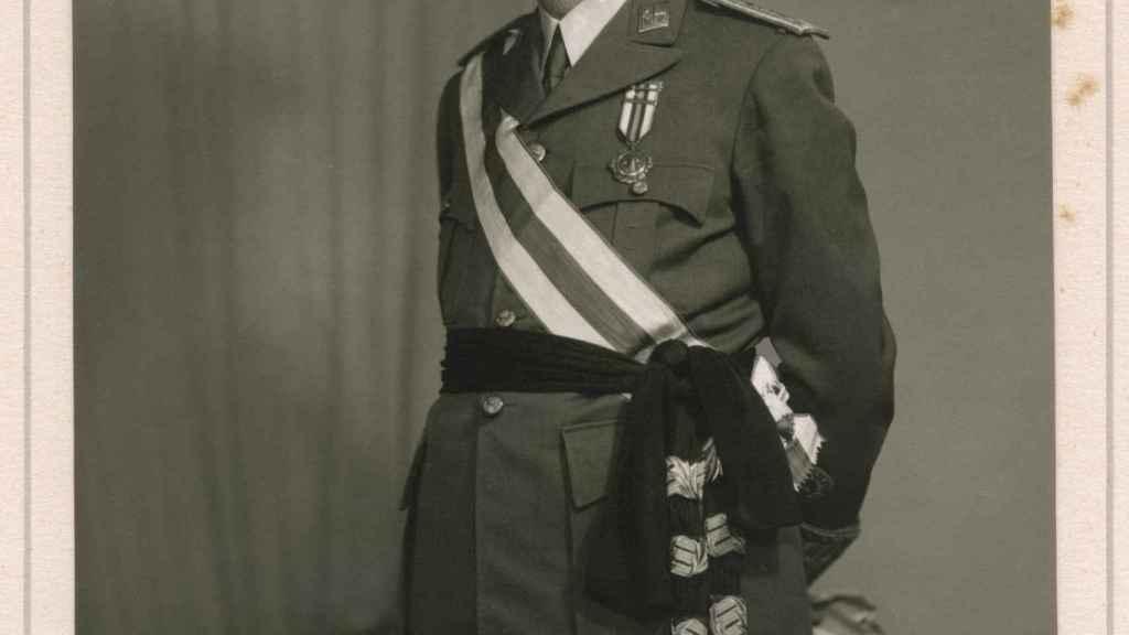 El general Rafael Latorre Roca, en una fotografía de la colección particular de la familia Fernández Corte.