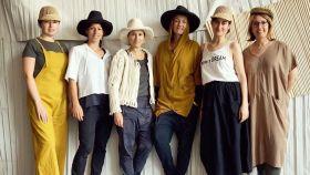 Algunas de las modelos que desfilarán para Miriam Ponsa.