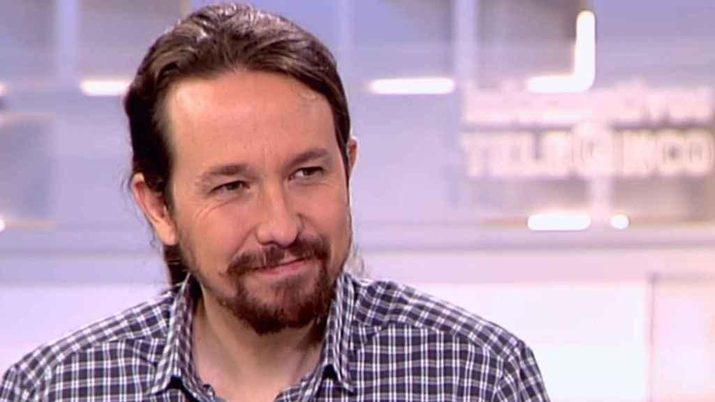 Pablo Iglesias en su primera entrevista tras el nacimiento prematuro de Leo y Manuel.