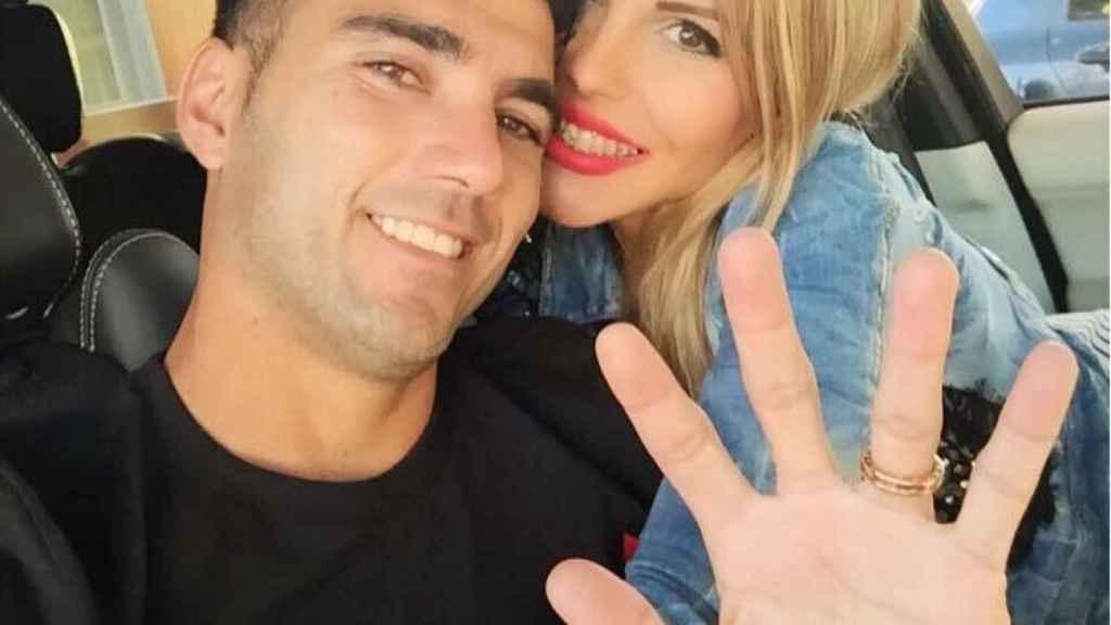 José Antonio Reyes y Noelia López en una imagen de su Instagram.