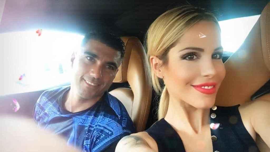 José Antonio Reyes y Noelia López en una imagen de sus redes sociales.