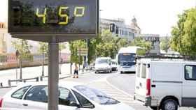 Un termómetro en Sevilla