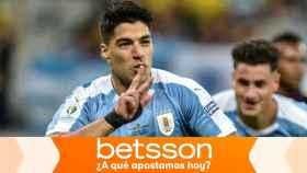 Dobla tu apuesta si Luis Suárez marca contra Perú en los cuartos de la Copa América