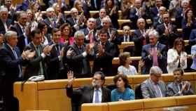 El Senado autoriza la aplicación del artículo 155./