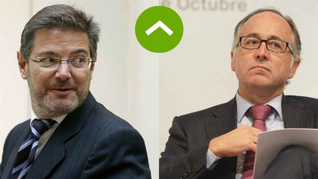 Rafael Catalá (Belagua) y Luis Gallego (Level).