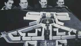 Equipo de arquitectos que diseñó la ciudad de Nowa Huta.