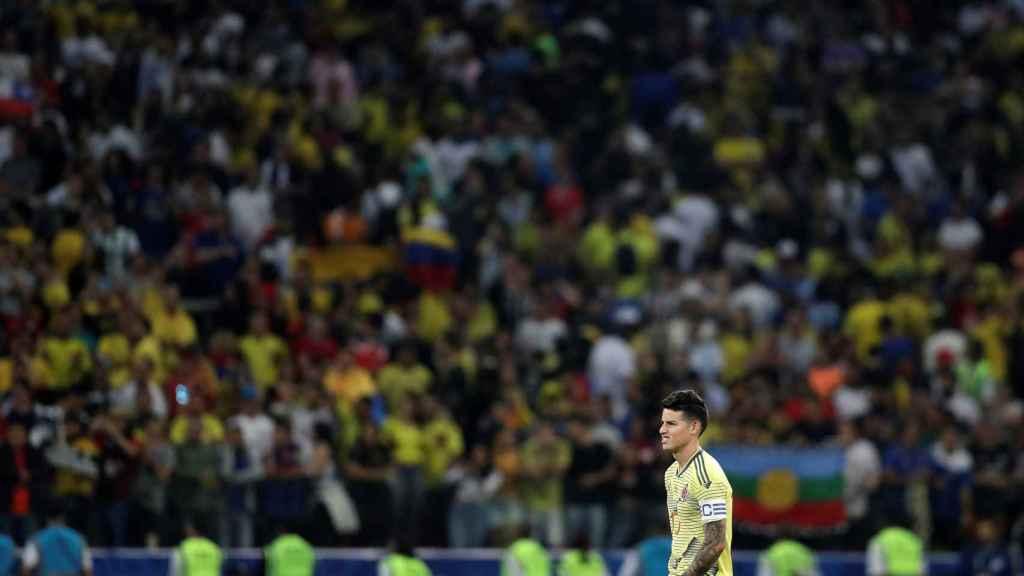 James Rodríguez, tras caer eliminado en la Copa América con Colombia