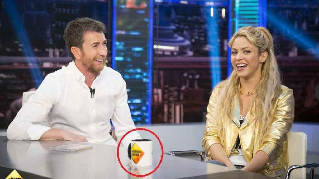 Shakira en el programa 'El Hormiguero' de Antena 3.