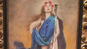 'Con flores a María', el cuadro de la polémica.