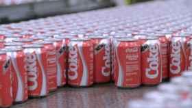 Latas de New Coke. Foto: Coca Cola España.