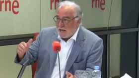 Pere Navarro, director de la DGT, durante una entrevista.