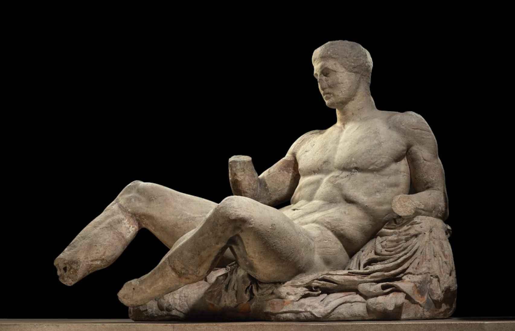 Figura de Dioniso.