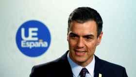 El presidente del Gobierno en funciones, Pedro Sánchez, este martes en Bruselas.