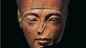Busto de Tutankamón sacado a subasta.