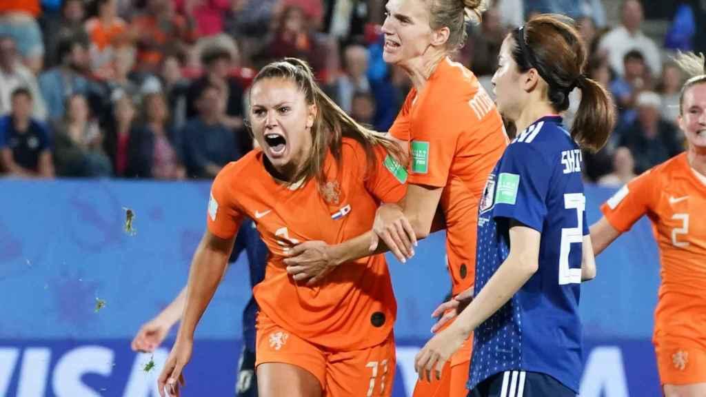 Lieke Martens, futbolista de la selección de fútbol femenina de Holanda