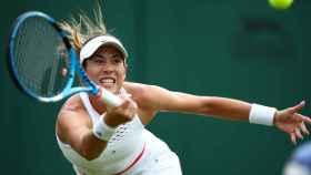 Garbiñe Muguruza, en Wimbledon 2019