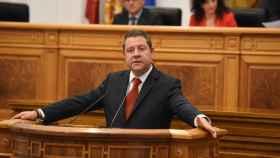 Emiliano García-Page, este martes en su discurso de investidura