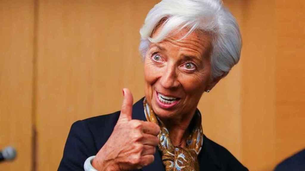 Christine Lagarde, actual presidenta del FMI y futura presidenta del BCE.