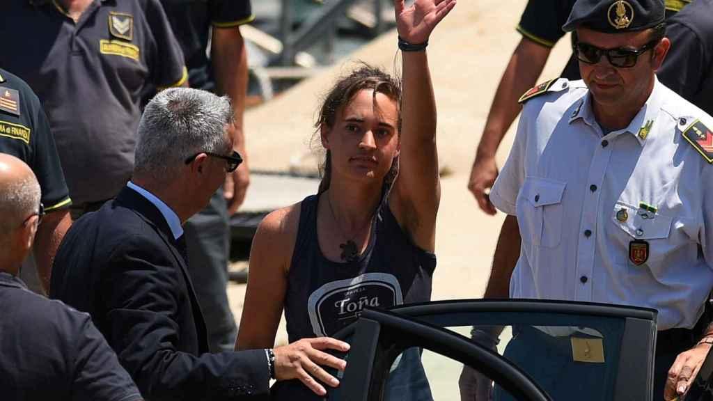 Carola Rackete, capitana del Sea Watch.