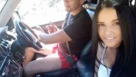La desaparecida Dana Deonte junto a su novio, Sergio Ruiz.
