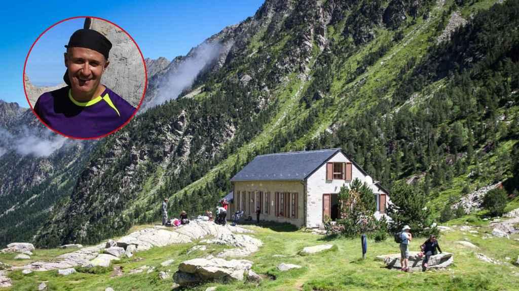 Rafa tenía una reserva en un refugio en el Pirineo francés, al que nunca llegó.