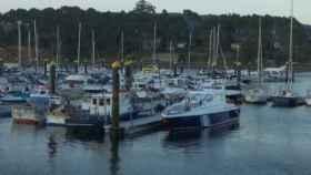 Embarcadero de Pontevedra próximo al lugar del suceso