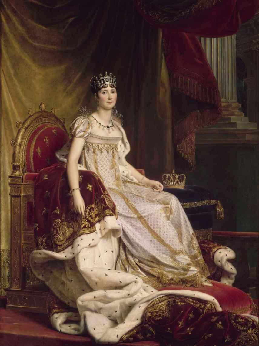 Josefina Bonaparte, retratada por Baron Fraçois Gérard.